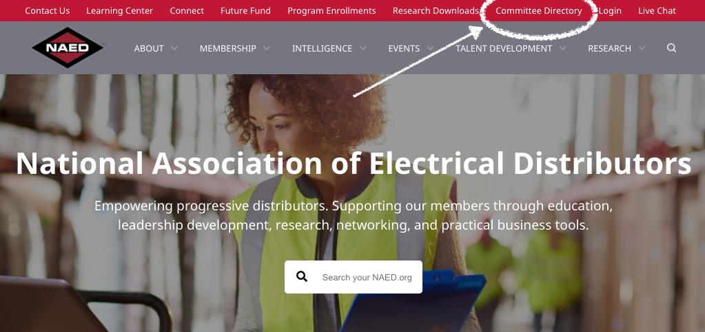 NAED-website-Committees