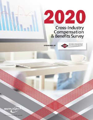 CCover_NAED 2020 Cross-Industry Compensation and Benefits Report Image